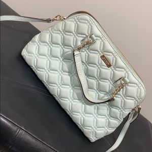 Kate Spade teal blue purse